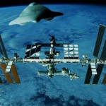UFO APPROACHES THE ISS, BEFORE TRANSMISSION IS CLOSED ONCE AGAIN