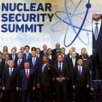 BARACK OBAMA FLASHES TWO FINGERS ILLUMINATI SALUTE AT NUCLEAR SECURITY SUMMIT IN WASHINGTON