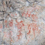 Fascinating 5000-year-old- Ural petroglyphs depict advanced chemical structures