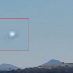 UFO hovering above Bodrum, Turkey May 2016