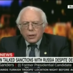 CNN Cuts Off Bernie Sanders on LIVE TV for Calling CNN Fake News