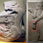 The mystery handbag of the Gods: Depicted in Sumer, America, and Göbekli Tepe