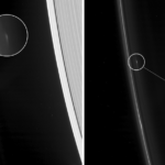 NASA captures mystery objects ORBITING a ring on Saturn