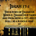 The attack on Syria, predicted in the BIBLE as a SIGN of the end of the world ?