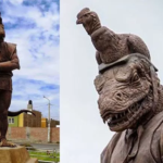 The Peruvian city of Chiclayo has a really weird monument dedicated to the ancient god Morrop the re...