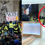 French News Caught Falsifying Sign Of Yellow Vest Protestor