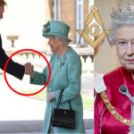Did President Trump Gave a Secret Freemasonic Handshake To Queen Elizabeth?