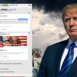 President Trump Tags Qanon Related Account On Twitter