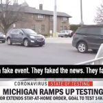CBS News Caught Staging Coronavirus Testing Lines To Make Hospital Look Busy