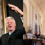 White House Moves Bill Clinton's Official Portrait To 'Storage Room'