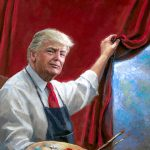 Dan Scavino Shares Enigmatic President Trump Painting Called  THE MASTERPIECE